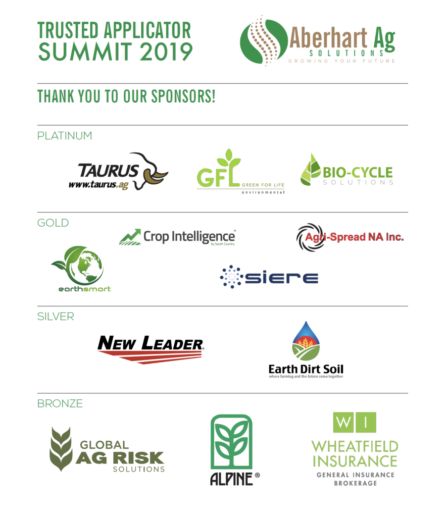 Highlights of 2019 Trusted Applicator Summit